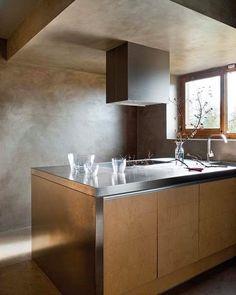 1000 images about cocinas con microcemento on pinterest for Microcemento paredes cocina