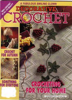 CROCHET DECORATIVE N.102 - Zuleika Sousa - Album Web Picasa