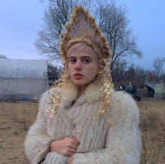 "jcummingness: "" Julia by Soojin Chang (the crown's creator) behind the scenes of the Easier Said video. """