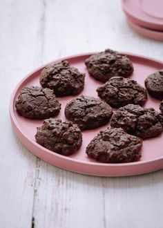 Triple Chocolate Buckwheat Cookies from #SimplyNigella (with thanks to @londonbakes for inspiration) One day to go!