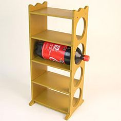 2 liter bottle rack