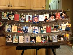 For part of my nephews high school graduation gift & decor for graduation party.