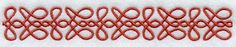 Celtic Border design (A1629) from www.Emblibrary.com