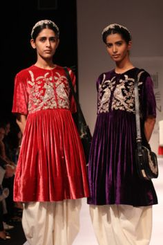 Sabyasachi (2011) - love the velvet. And the whole design.