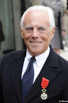 Giorgio Armani - 40 years in fashion. Congrats!