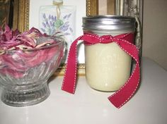 Follow these easy steps to make your own homemade beeswax body butter