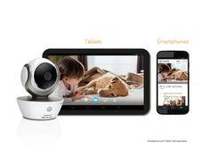 Motorola 10N2652 - Webcam (100 m, CMOS, LED, HD), blanco