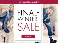 The countdown to the Final Winter Sale is on! Only until 02.14.2016  our current autumn / winter collection is available with attractive prices. Visit our #FALKE Online-Shop directly. For the link check out our Bio. by falke