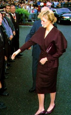 September 22nd 1988, Princess Diana visited St Catherine's Hospice, at Crawley in Sussex.
