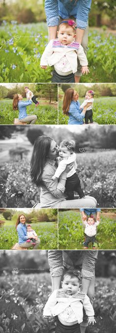 6 month old photo session ~ Outdoor Baby Family Milwaukee Wisconsin Photographer