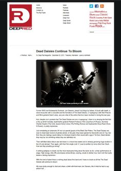 2013: Dead Daisies Continue To Bloom - Deep Red Magazine