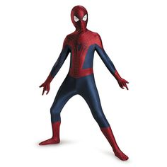 The Amazing Spider-Man 2/3 Child Deluxe Bodysuit Toy Costume Disguise New 2015