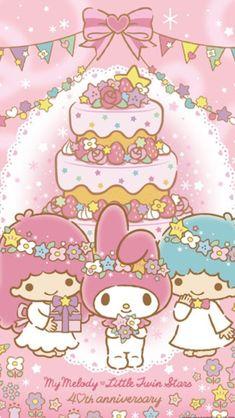 #MyMelody #LittleTwinStars ♪(*^^)o∀*∀o(^^*)♪