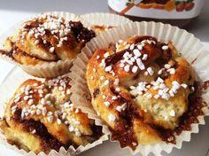 Glutenfria nutellabullar
