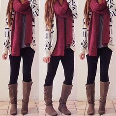 fall winter outfit.