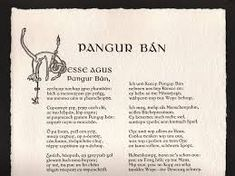 Image result for Pangur ban