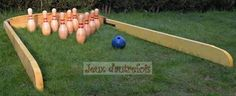 Jeux d'autrefois - Location Animation Jeux anciens en bois � M�rignies dans le Nord Pas de Calais