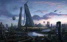 Город будущего, какими будут города через тридцать или пятьдесят лет