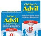 Buy 1 Get 1 FREE Children's Advil Coupon - Can be mailed!
