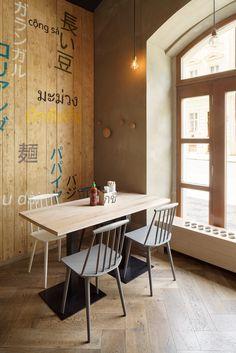 Modrý Zub: Fast food, kde se nepospíchá | Insidecor - Design jako životní styl
