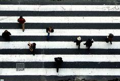 Crosswalk #blackandwhite #photography