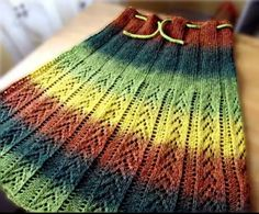 #knitting #skirt #handmade