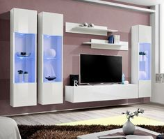 Modern wall units   wall units   living room wall units   contemporary wall units   wall units for tv   tv cabinets   oak wall unit