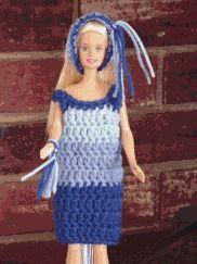 Easy Barbie dress.