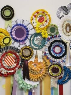 56 Best Rosette/birthday/prize Ribbons images in 2016