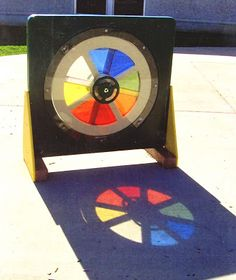 "Preschool Playgrounds: ""It's Simply a Classroom"": Art: Color Wheel (Part 2 of 4)"