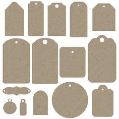 chipboard tagsFree Printables
