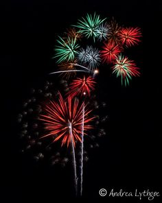 How to photograph fireworks by Megan Moore
