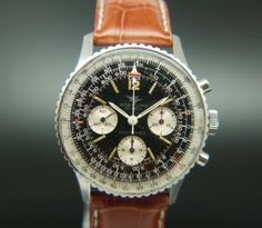 Breitling Navitimer 806 Circa 1960s, orginally designed as a navigation watch for pilots, this gentlemens watch is the perfect christmas gift for those with a predilection for getting lost.