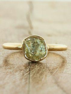 Tallulah - raw diamond ring