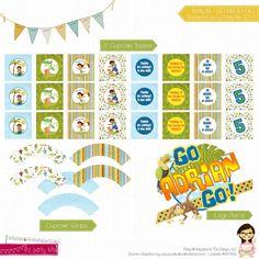 Go Diego Go Birthday Party Kit  Banner Go Diego Go by EZPARTYKITS, $20.00