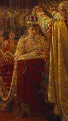 Coronation of Queen Alexandra.