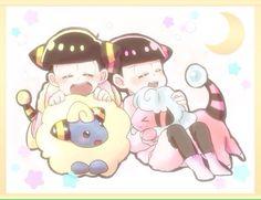 Gakuen Babysitters, Gekkan Shoujo Nozaki Kun, Anime Crossover, Ichimatsu, The Brethren, South Park, Minnie Mouse, My Favorite Things, Disney Characters