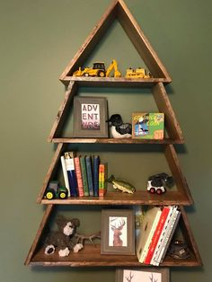 DIY Tree Shelf