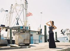 ahhh...I do love me some nautical details!  (fishing inspired maternity shoot | grey likes baby)