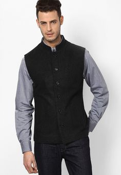 Black Ethnic Jacket at $110.20 (24% OFF)