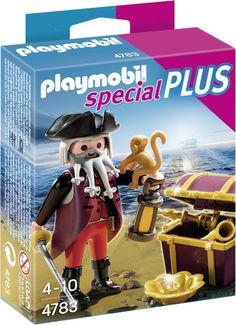 bol.com   Playmobil Piraat Met Schatkist - 4783,Playmobil   Speelgoed