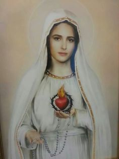 My favorite image of Our Lady <3