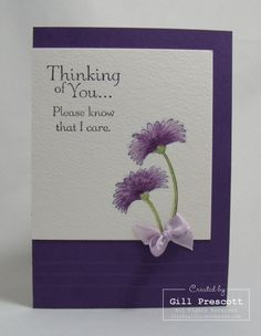 Stampin Up - thinking of you