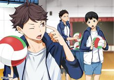 Little Kageyama is just too cute!!! <3