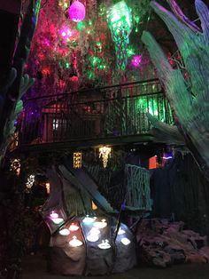Meow Wolf the House of Eternal Return in Santa Fe - must see! Meow Wolf Santa Fe, Eternal Return, Gypsy Home, Earthship Home, Rainbow Aesthetic, Indie Room, Weird Dreams, Aesthetic Images, Dream Rooms