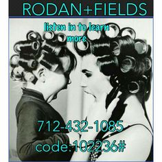 Curious about Rodan & Fields?  Listen in, message me to learn more!  #changingskin #changinglives #rodanandfields #joinmyteam. lwallace5.myrandf.com