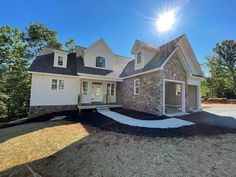 The Ivy Creek House Plan 921 is being built by Custom Structures, Inc. as the St. Jude Children's Hospital 2021 Dream Home Giveaway in Lynchburg, VA! #wedesigndreams #stjude #cottagehouseplan Two Story House Plans, Two Story Homes, Garden Tub, Cottage House Plans, Built Ins, French Doors, Great Rooms, Ivy, Giveaway