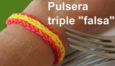 Pulsera de gomitas triple falsa. Bandera 1