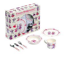 Эмма Бриджуотер Танцы Мыши 6-Piece Melamanie Завтрак Set: Amazon.co.uk: Кухня и Главная