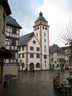 Mosbach, Germany, my parents were married in this Rathaus.
